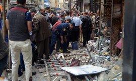 Následky teroristického útoku na křesťanský hotel v Egyptě