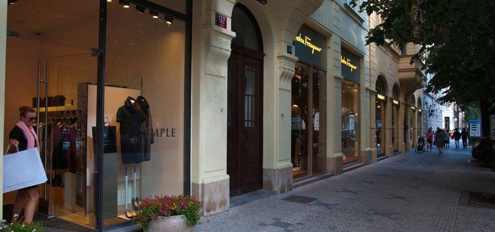 Butiky v Pařížské, ilustrační foto