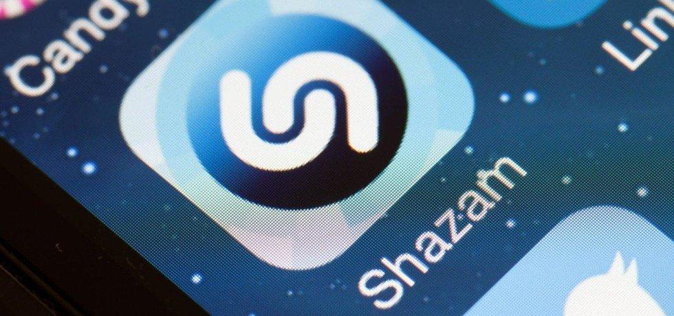 Mobilní aplikace Shazam