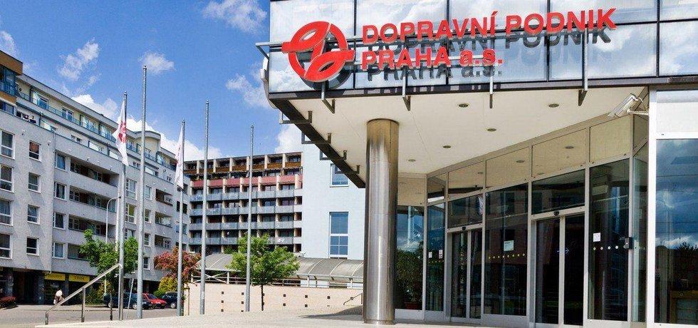 Sídlo pražského Dopravního podniku