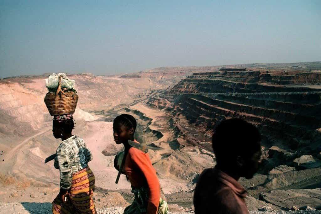 Důl Gecamines k Kongu