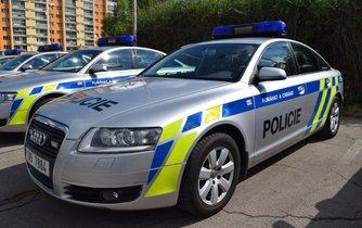 Policejní Audi A6