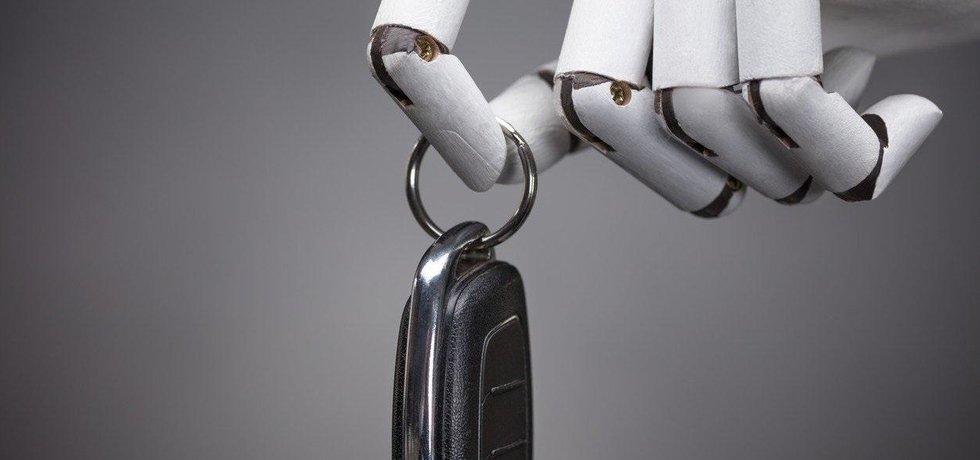 Robot řidič, ilustrační foto