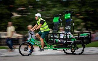 Cargo kolo společnosti Lime