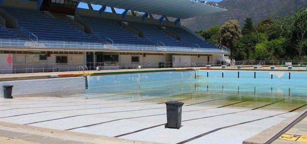 Zavřený bazén na předměstí Kapského Města