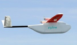 Dron společnosti Zipline. Zdroj: flyzipline.com