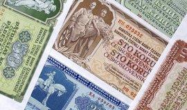 Československá koruna, ilustrační foto
