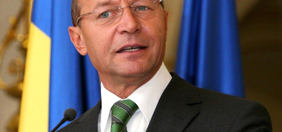 """""""Dohoda je na dva roky,"""" uvedl Basescu."""