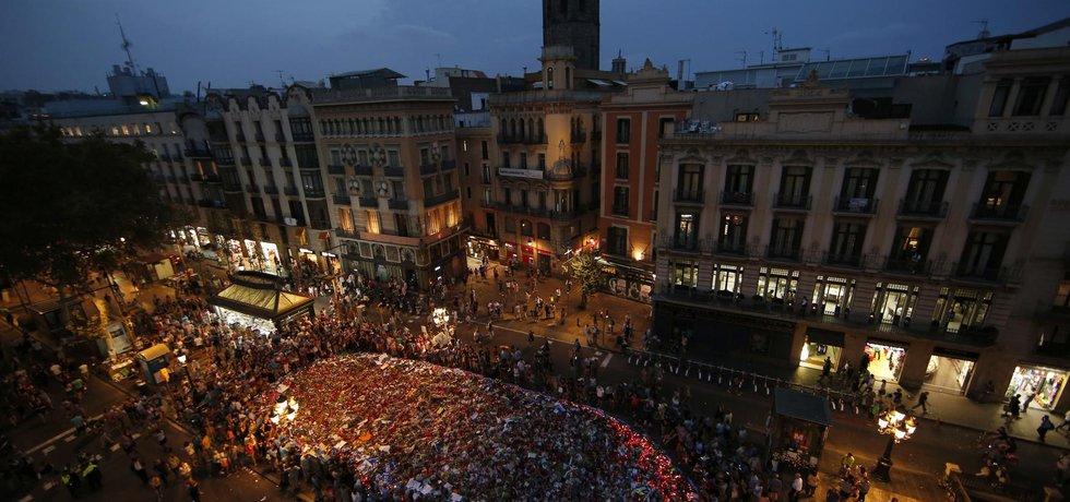 V Barceloně se selo půl milionu demonstrantů