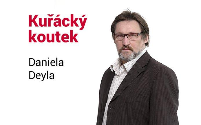 Kuřácký koutek Daniela Deyla