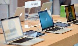 Nové MacBooky, ilustrační foto