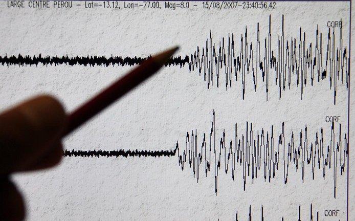 Seismograf - ilustrační foto