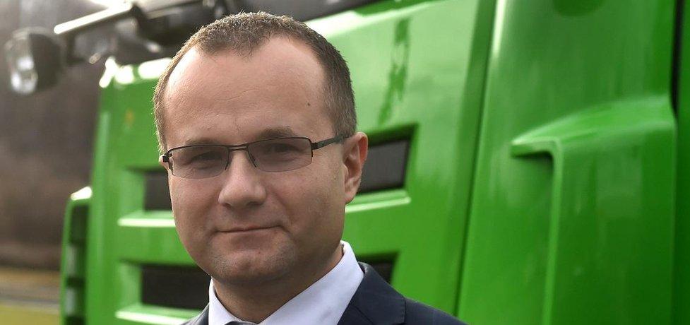 Ředitel kopřivnické automobilky Tatra Martin Bednarz