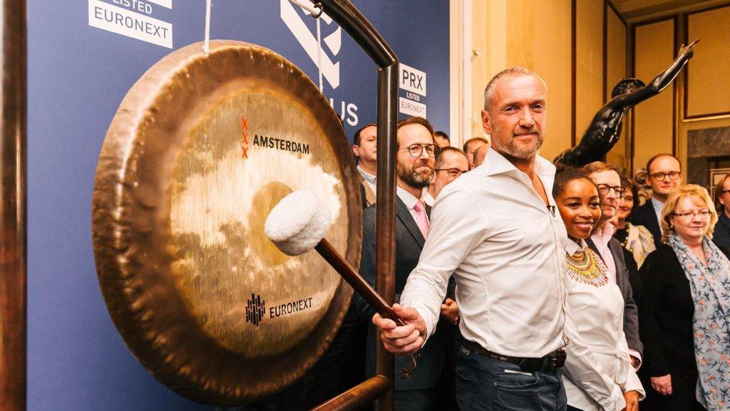 IPO společnosti Prosus v Amsterdamu
