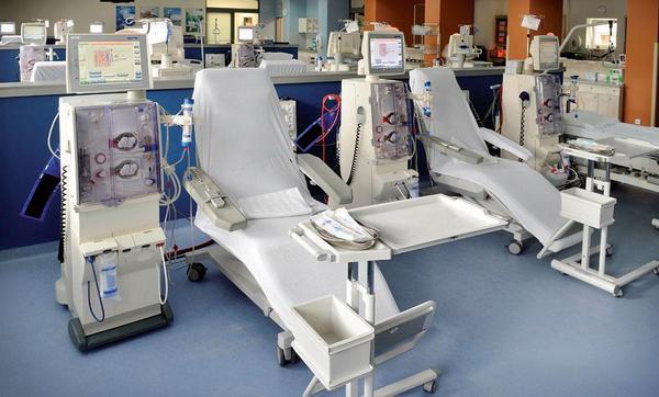 Zrekonstruované dialyzační středisko v Kladně