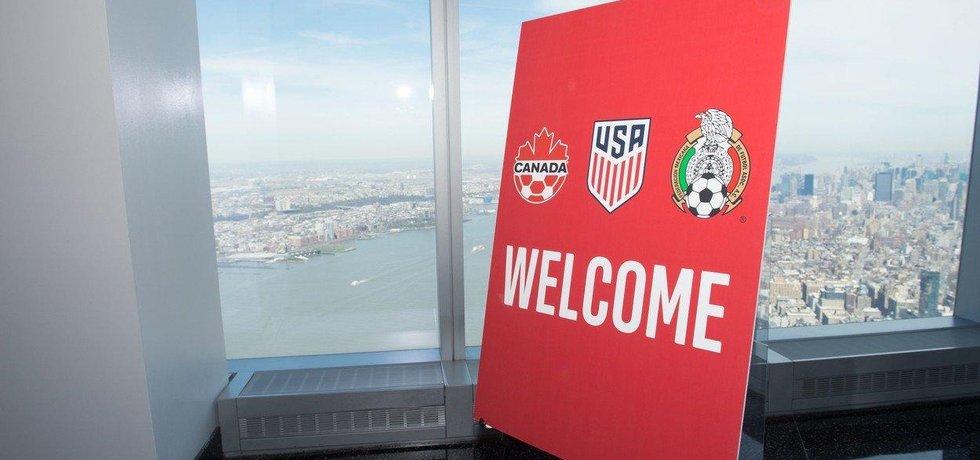 Fotbalové mistrovství světa se v roce 2026 bude konat v USA, Mexiku a Kanadě