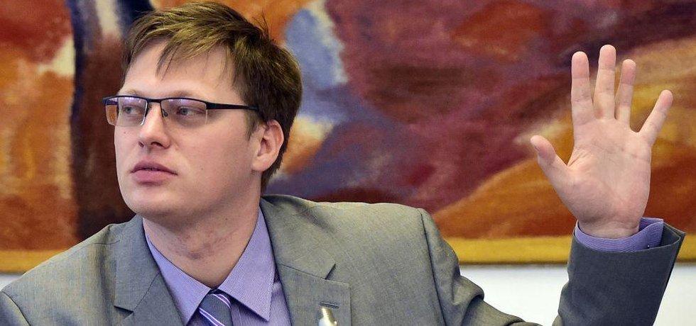 Předseda vyšetřovací komise Lukáš Černohorský