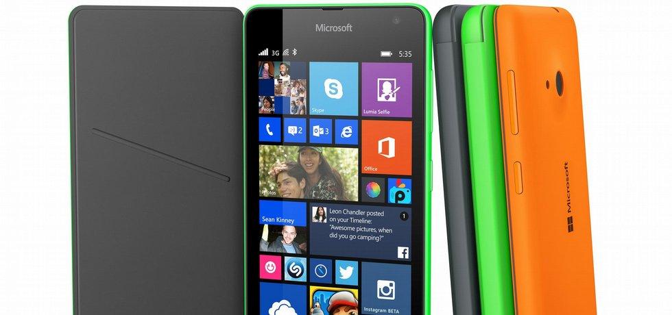 Lumia 535, poprvé bez označení Nokia