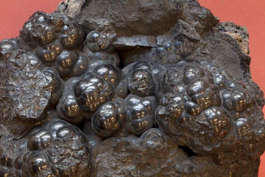 Ruda, která je hlavním zdrojem kobaltu