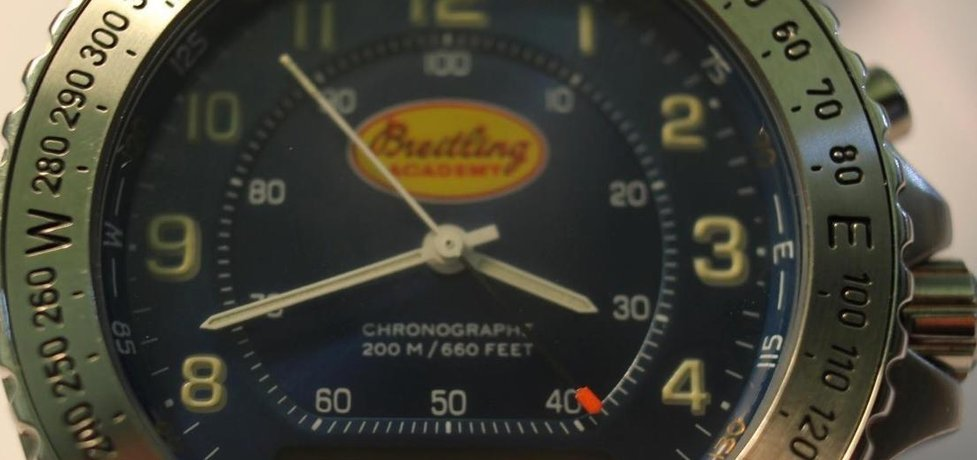 Luxusní hodinky od firmý Breitling