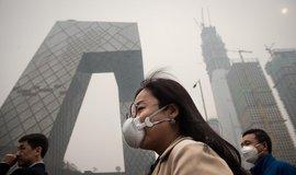Smog v Pekingu, ilustrační foto
