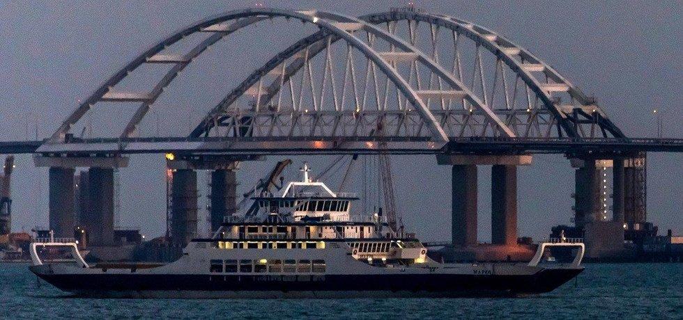 Kerčský most, ilustrační foto