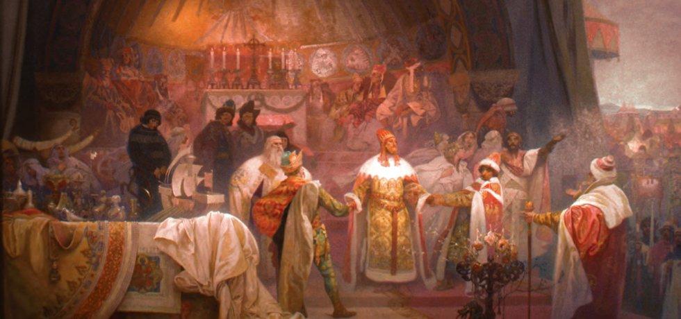 Slavná Muchova Slovanská epopej