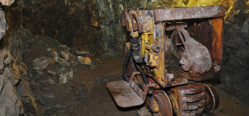 Uranový důl Svornost v Jáchymově