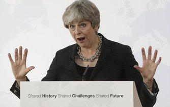 Britská premiérka Theresa Mayová volá v souvislosti s vystoupením její země z evropského společenství po přechodném období