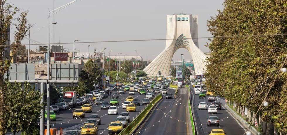 Teherán, ilustrační foto
