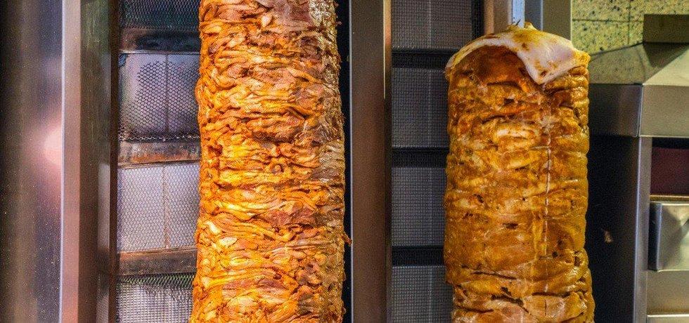 Kebab - ilustrační foto