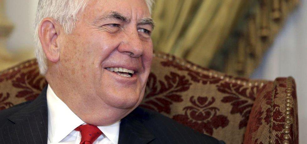 Odcházející ministr zahraničí USA Rex Tillerson