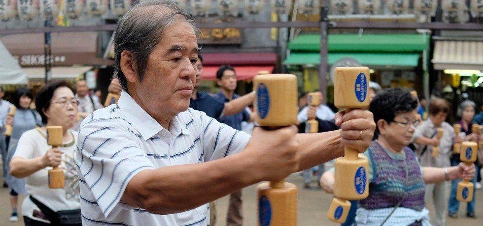 Japonská populace rychle stárne, ilustrační foto