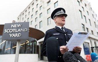 Šéf protiteroristického oddělení metropolitní policie Mark Rowley