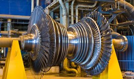 Turbína od Siemensu, ilustrační foto