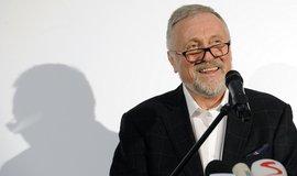 Prezidentský kandidát Mirek Topolánek kandiduje s heslem Jdu do toho