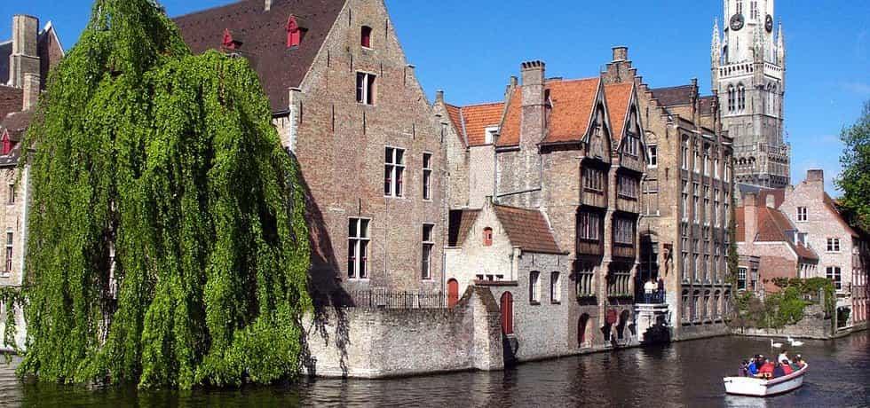 Brugy - historické centrum