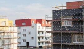 Výstavba nových bytů v Praze - ilustrační foto