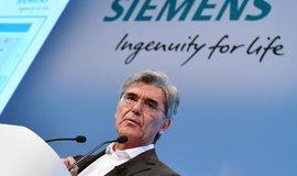Generální ředitel firmy Siemens Joe Kaeser. Ilustrační foto.