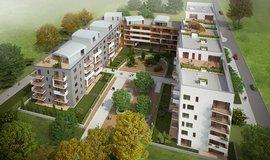 Projekt Zahrady Opatov developera Sekyra Group