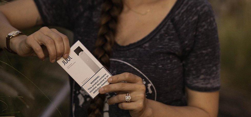 Elektronické cigarety Juul, ilustrační foto