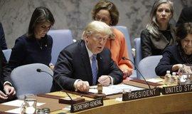 Donald Trump v Radě bezpečnosti OSN