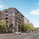 Nová ulice Nádražní naproti pivovaru