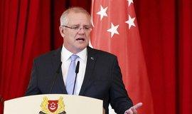 Australský premiér Scott Morrison