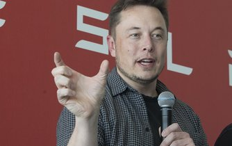 Šéf Tesla Motors a SpaceX Elon Musk