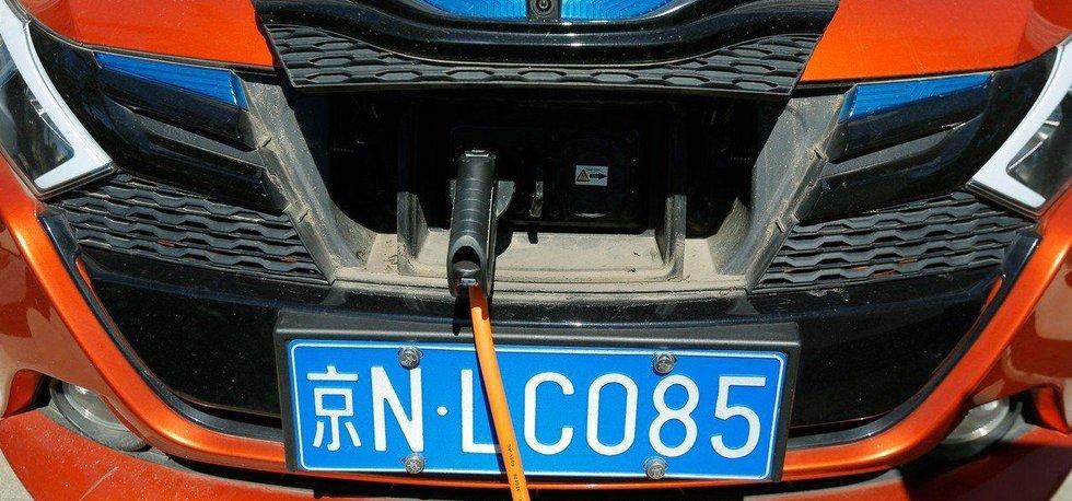 Elektroauto v Číně, ilustrační foto