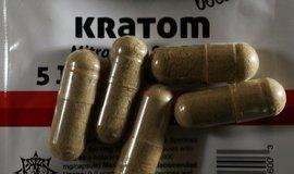 Pilulky s kratomem, ilustrační foto