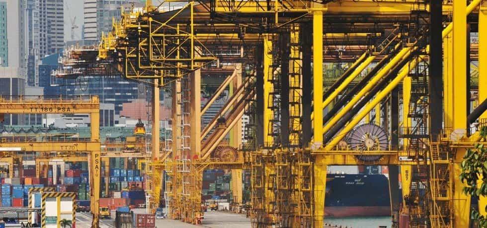 Nákladní přístav, ilustrační foto