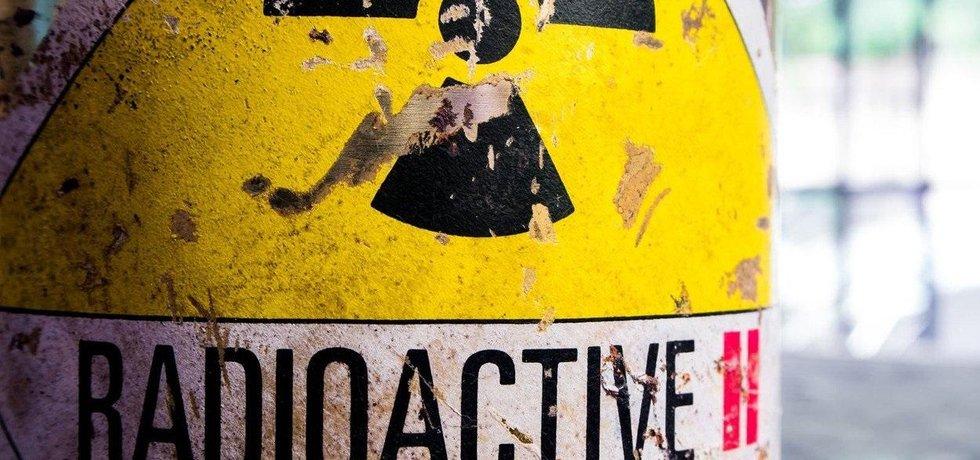 Radioaktivní odpad, ilustrační foto