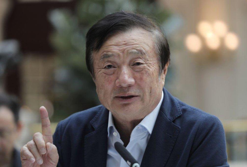 Zakladatel čínské společnosti Huawei Žen Čeng-fej